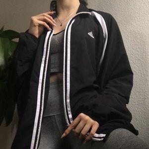 Adidas Windbreaker Zip Up Jacket